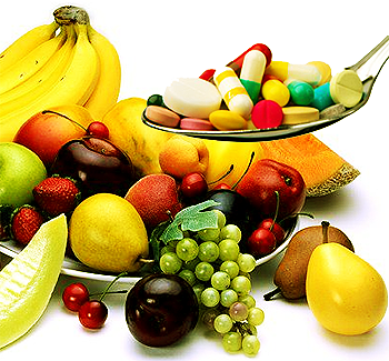 natural or synthetic vitamins