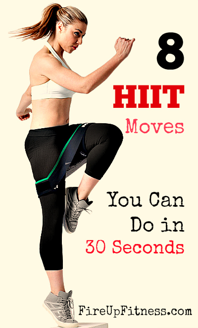 8 HIIT Moves You Can Do in 30 Seconds