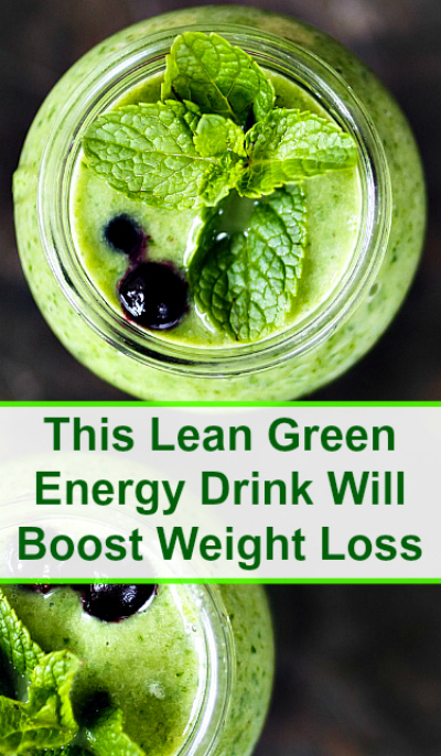 This Lean Green Energy Drink Will Boost Weight Loss