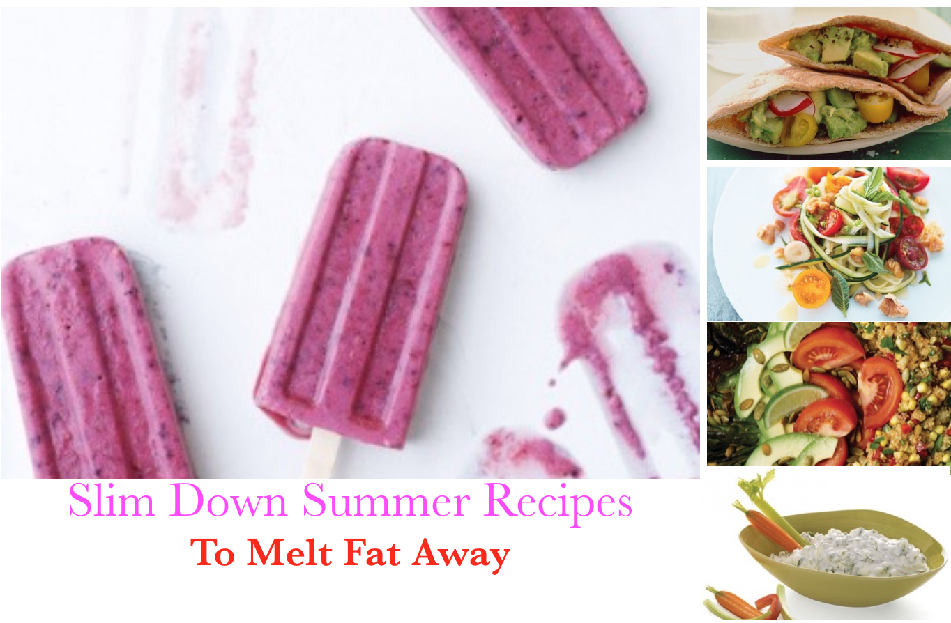 slim Down Recipes to melt fat on your belly