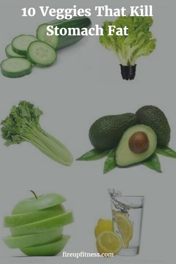 10 Veggies That Kill Stomach Fat 2