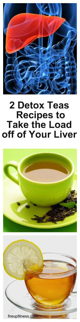 2 Detox Teas Recipes to Take the Load off of Your Liver 1