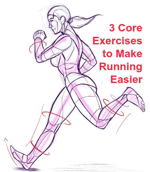 3 Core Exercises to Make Running Easier