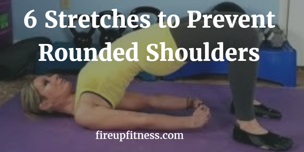 6 Stretches to Prevent Rounded Shoulders face