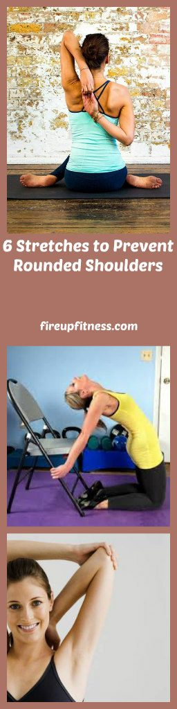 6 Stretches to Prevent Rounded Shoulders pin