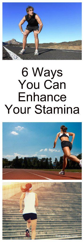 6 Ways You Can Enhance Your Stamina 1