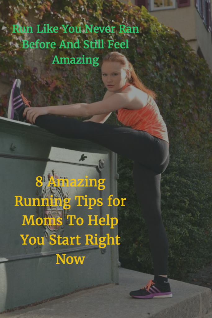 How moms can start running