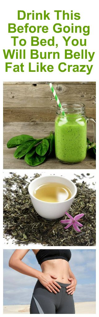 If You Drink This Before Going To Bed, You Will Burn Belly Fat Like Crazy 2