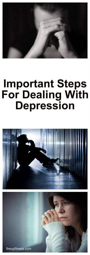 Important Steps For Dealing With Depression 1