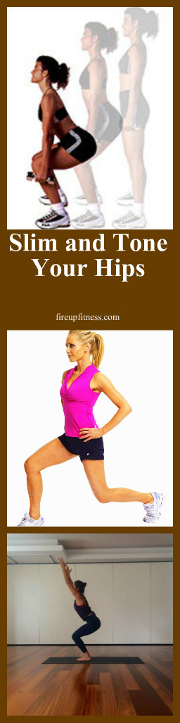 Slim and tone your hips pin