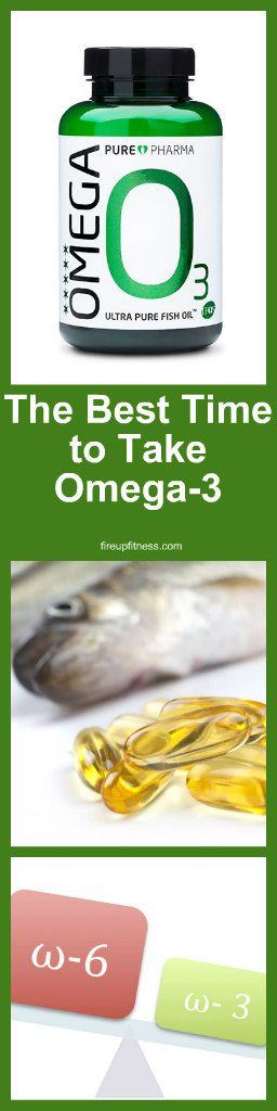 The Best Time to Take Omega-3 1
