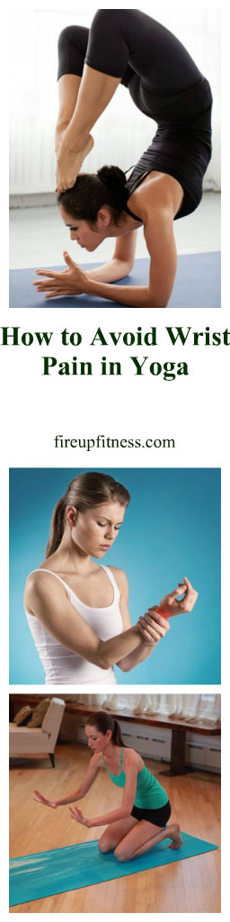 how to avoid wrist pain in yoga pin