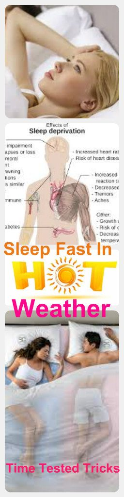 how to sleep well in Hot weather