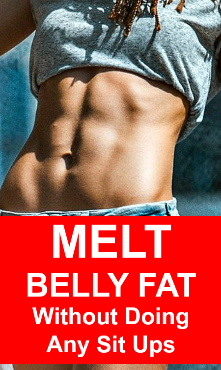 lose belly fat without sit ups