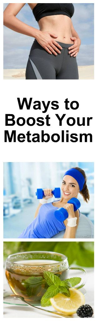 10 Ways to Boost Your Metabolism 1