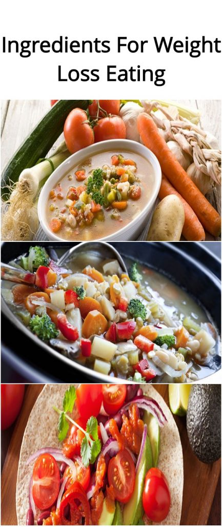 3 Ingredients For Weight Loss Eating1