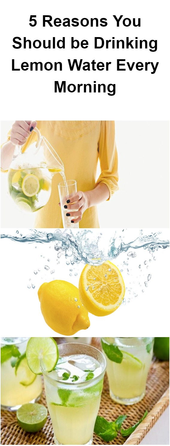 Reasons To Drink Lemon Water Every Morning