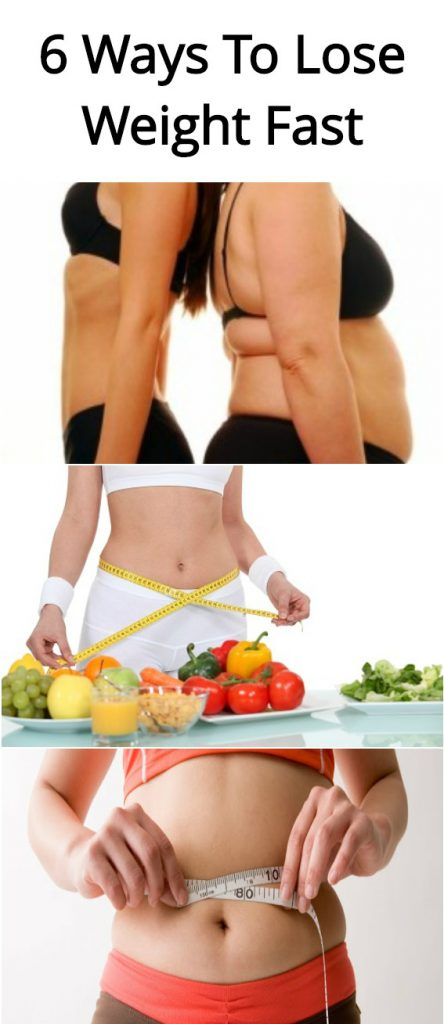 6 Ways To Lose Weight Fast 1