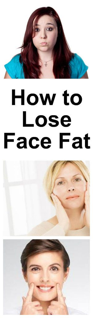 How to lose face fat 1