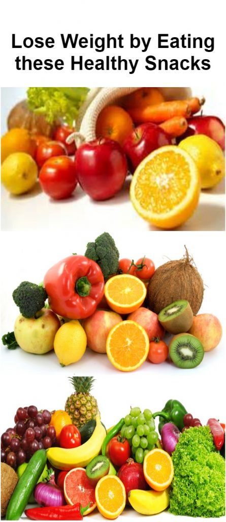 Lose Weight by Eating these Healthy Snacks1