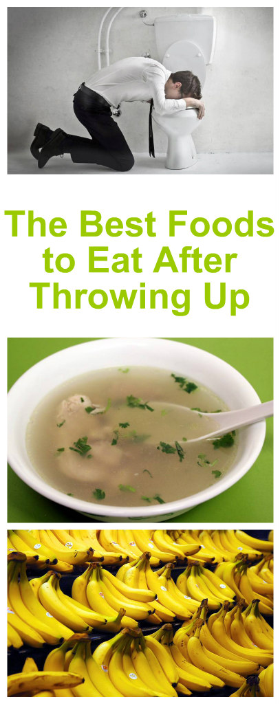 What Foods Can You Eat After Throwing Up