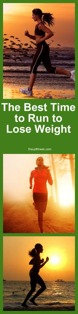 The Best Time to Run to Lose Weight1