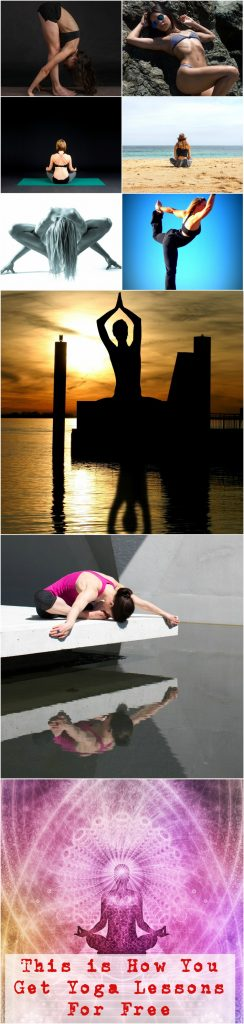 how to get yoga lessons for free
