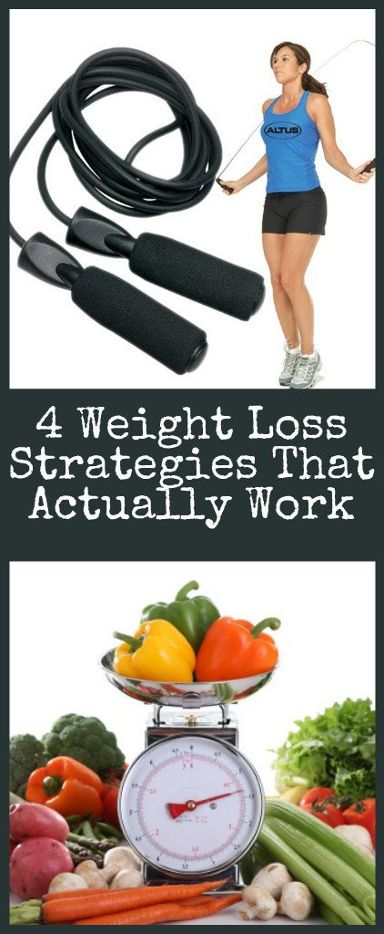 4 Weight Loss Strategies That Actually Work
