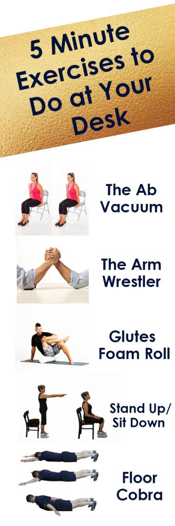 Ab Exercises You Can Do At Your Desk Desk Design Ideas