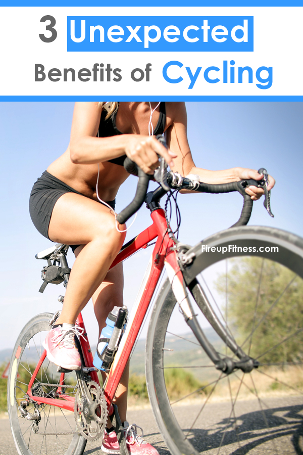 3 Unexpected Benefits of Cycling