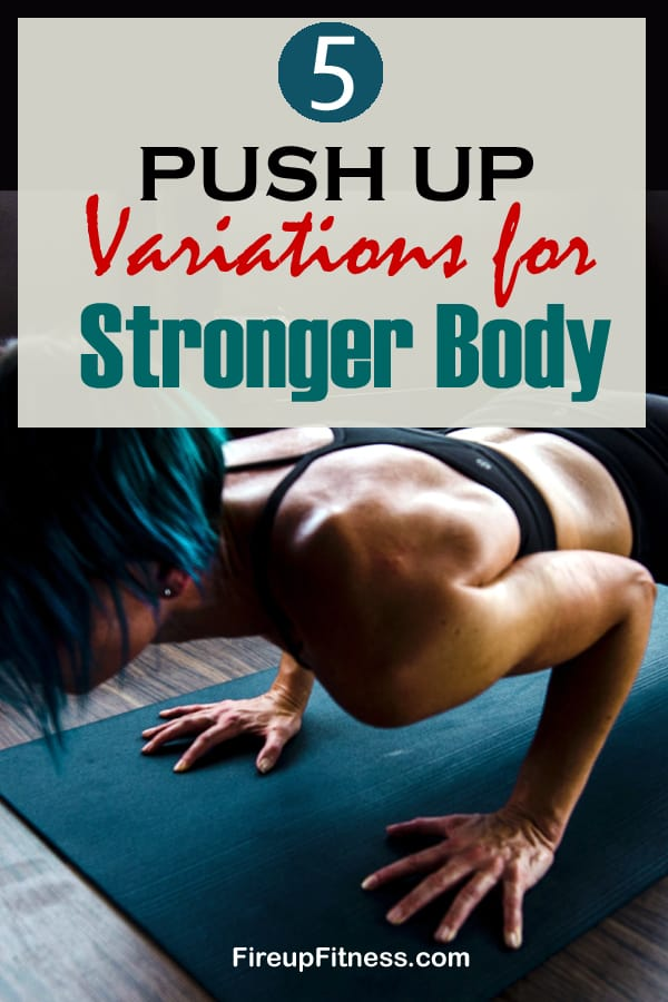 5 Push-Up Variations for a Stronger Body