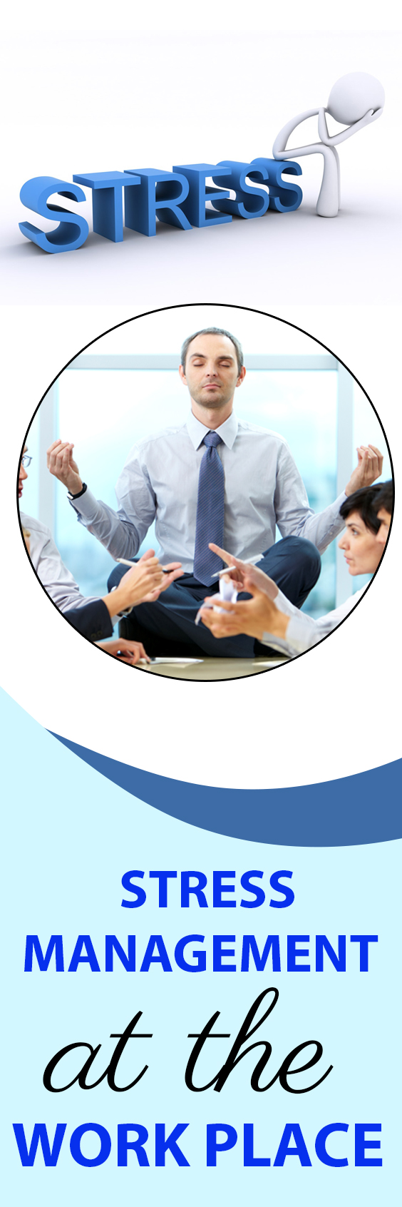 stress management at the workplace Stress management in the workplace building resilience and leading a stress-less life the health of an organisation and the health of its workforce are inextricably linked.