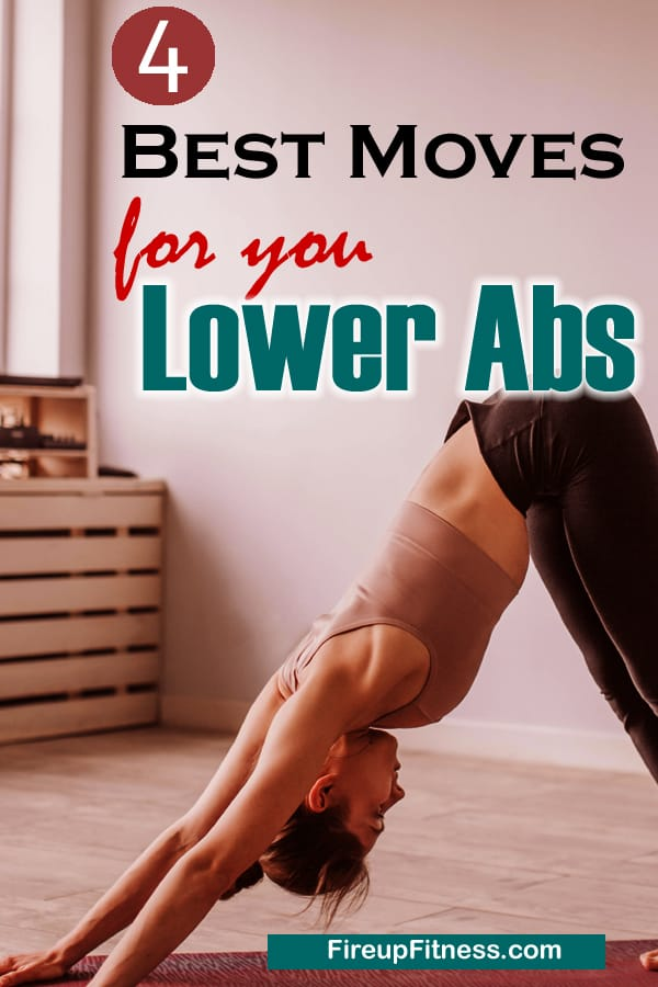 4 Best Exercises for Your Lower Abs